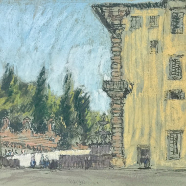 Paul Ayshford Methuen - Giardini Boboli, Florence, 1956