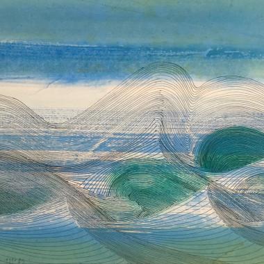 Wilhelmina Barns-Graham - June Sea, Porthmeor, 1979-87