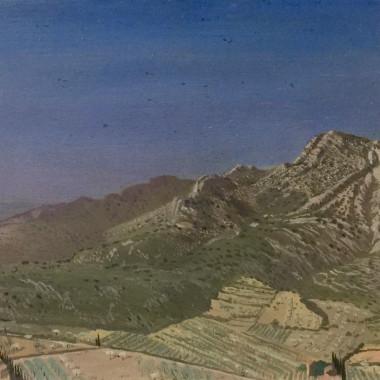 Allan Gwynne-Jones - Provençal Landscape, 1921
