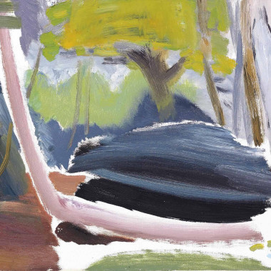 Ivon Hitchens - Leaning Mountain Ash, 1957