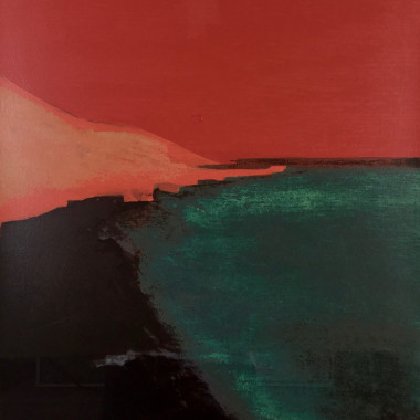 Tom Hammick - Yellow Sands I (Red), 1998