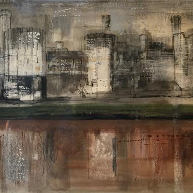 John Piper - Caernarvon II, 1968