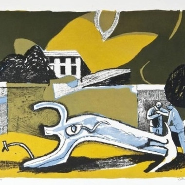 Keith Vaughan - The Walled Garden, 1951