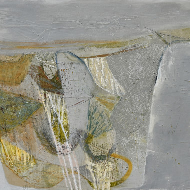Peter Joyce - Salt Pan Landscape, Ancient and Re-Worked, 2017