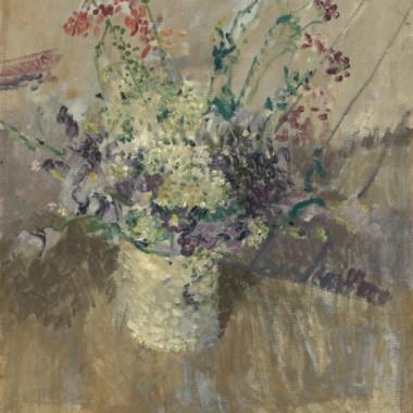 Walter Sickert - Flowers in a White Vase, 1911