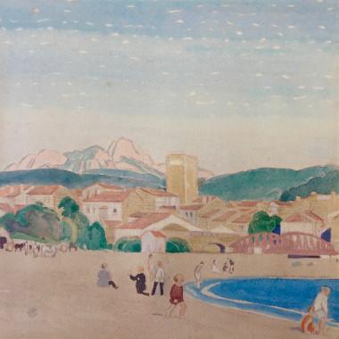Charles March Gere - Saint-Raphael, c 1920