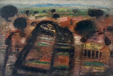 <span class=%22title%22>Untitled (Four Figures in a Landscape)<span class=%22title_comma%22>, </span></span><span class=%22year%22>c 1960s</span>
