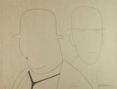 <span class=%22title%22>Untitled (Laurel and Hardy, Bowler Hats)<span class=%22title_comma%22>, </span></span><span class=%22year%22>1965</span>