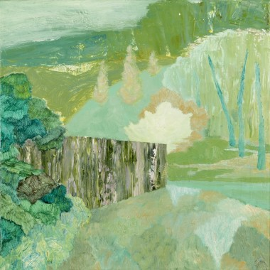 <span class=%22title%22>Untitled (Woodland with Wall)<span class=%22title_comma%22>, </span></span><span class=%22year%22>2019</span>