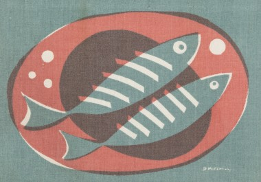 <span class=%22title%22>Two Fish on a Plate, from Porthia<span class=%22title_comma%22>, </span></span><span class=%22year%22>c 1955</span>