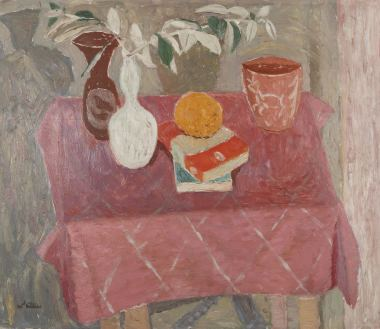 <span class=%22title%22>The Pink Tablecloth<span class=%22title_comma%22>, </span></span><span class=%22year%22>1950s circa</span>