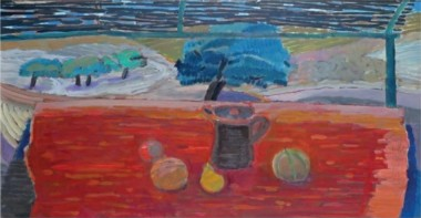 <span class=%22title%22>Still life with Cherry Trees, Provence<span class=%22title_comma%22>, </span></span><span class=%22year%22>1990</span>