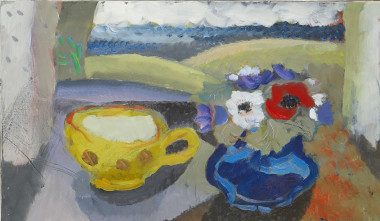 <span class=%22title%22>Yellow Cup and Anemones<span class=%22title_comma%22>, </span></span><span class=%22year%22>c 1990</span>