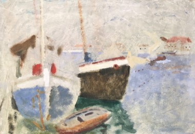 <span class=%22title%22>Harbour with Boats</span>