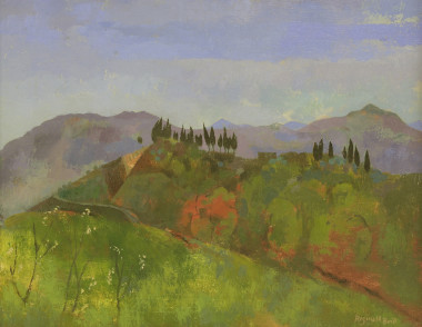 <span class=%22title%22>Mountain Landscape with Cypress Trees, Italy<span class=%22title_comma%22>, </span></span><span class=%22year%22>c 1951</span>