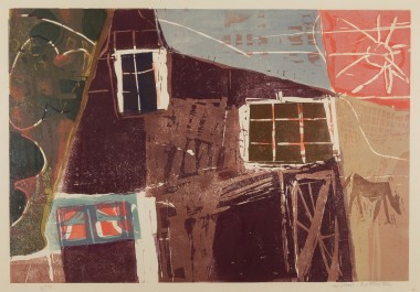 <span class=%22title%22>Cottage with a Horse<span class=%22title_comma%22>, </span></span><span class=%22year%22>c 1958</span>