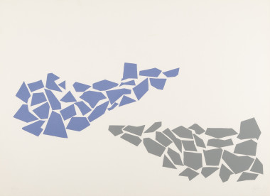 <span class=%22title%22>One Two Three (Cornflower Blue and Grey)<span class=%22title_comma%22>, </span></span><span class=%22year%22>1968</span>