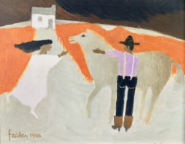 <span class=%22title%22>Man, Woman and Horse<span class=%22title_comma%22>, </span></span><span class=%22year%22>1986</span>