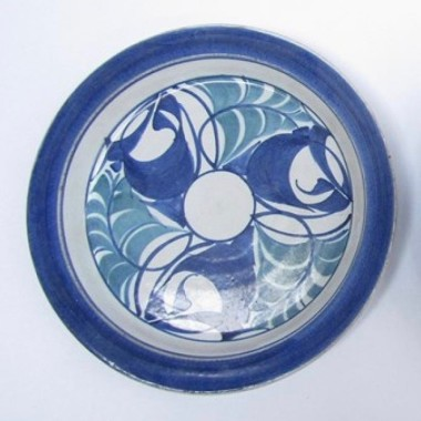 <span class=%22title%22>An Aldermaston Pottery plate<span class=%22title_comma%22>, </span></span><span class=%22year%22>1983</span>