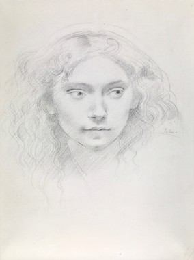 <span class=%22title%22>Portrait Study of a Young Girl</span>
