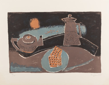 <span class=%22title%22>Nature morte brune (Brown Still life)<span class=%22title_comma%22>, </span></span><span class=%22year%22>1968</span>