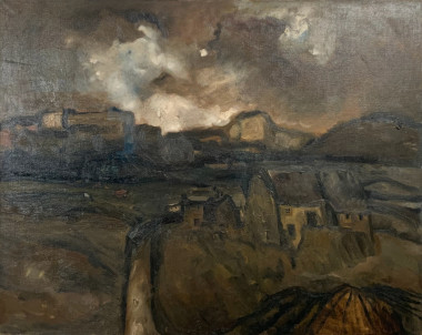 <span class=%22title%22>Landscape with Cottages<span class=%22title_comma%22>, </span></span><span class=%22year%22>c.1950</span>