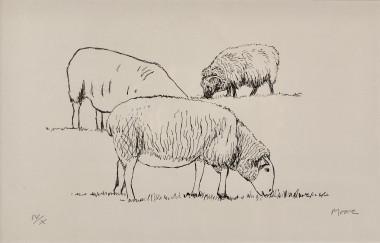 <span class=%22title%22>Three Sheep Grazing<span class=%22title_comma%22>, </span></span><span class=%22year%22>1974</span>