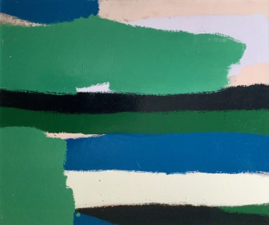 <span class=%22title%22>Untitled #2 (Green and Black Stripes)<span class=%22title_comma%22>, </span></span><span class=%22year%22>c 1960s</span>