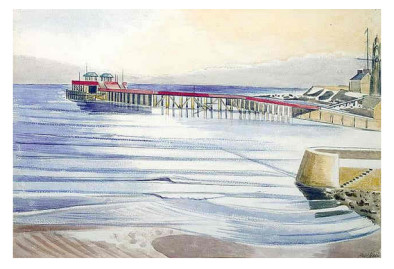 Swanage Low Tide, 1935