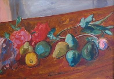 Peonies and Pears, c.1934