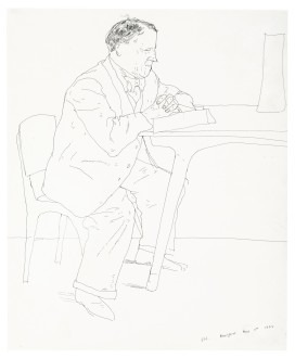 Artist's Father Reading at Table, 1972