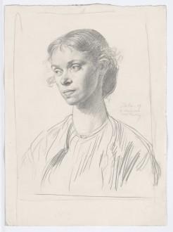 Mrs Ambrose McEvoy, 1907