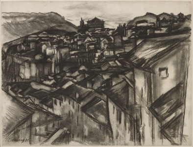 The City, Ronda, Spain, 1935