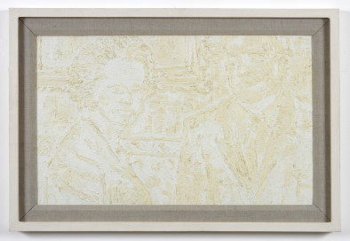 White Abstract (Charles Moore and Mrs Thatcher), 1994