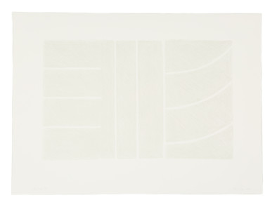 Untitled Lithograph (Grey on white), 1993