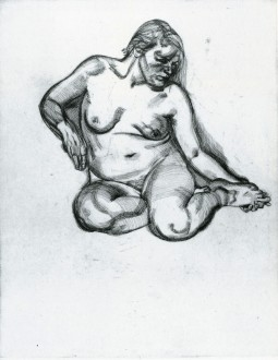 Girl Holding Her Foot, 1985