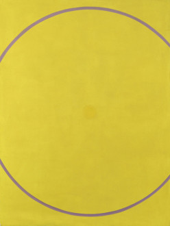 Untitled (Yellow Violet Arc), 1962