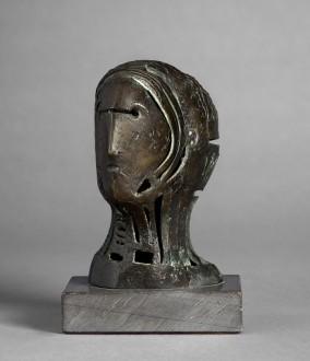 Maquette for Openwork Head no.2, 1950