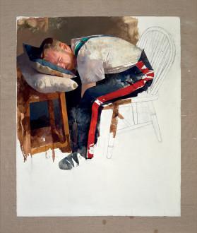 Courbet, Saviour of the World, 2017