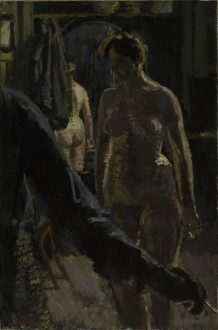 The Studio: The Painting of a Nude, 1906