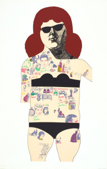 Tattooed Lady (Black), 1985