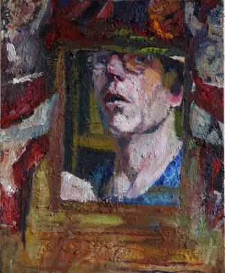 Simon Klein, Self Portrait with Cherubs, 2015