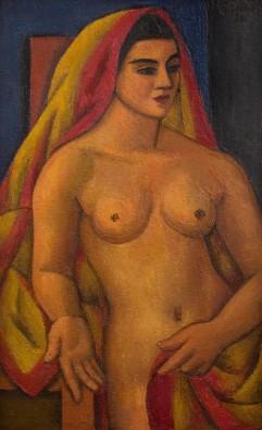 Mark Gertler, The Sari, 1938