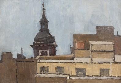 Euan Uglow, Church in the City, 1955 c.