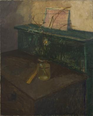 William Coldstream, Still Life with Daisy, 1931