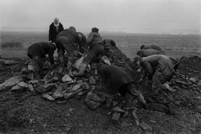 Unemployed Men Gathering Coal, Sunderland