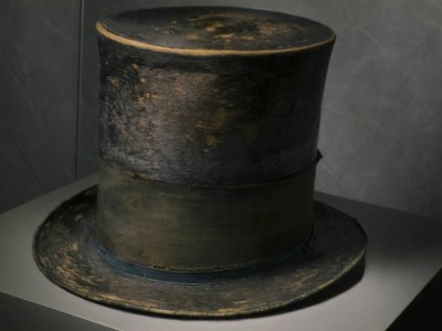 Abraham Lincoln's Hat at The Smithsonian National Museum