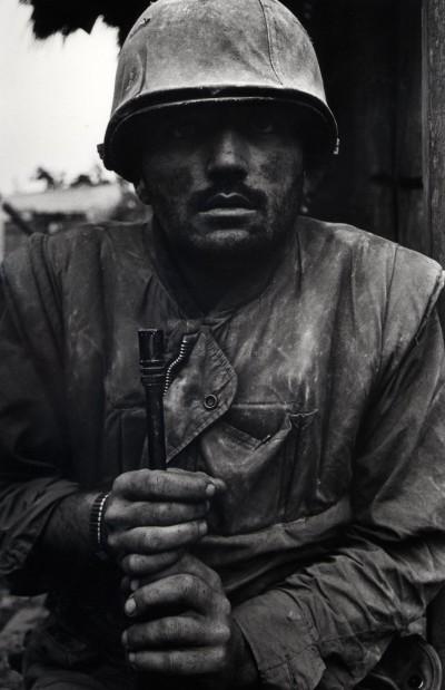 Shell Shocked Marine, Vietnam, Hue