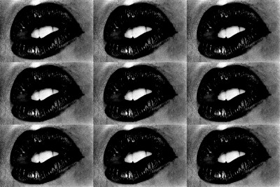 Untitled (Lips 9 Times)