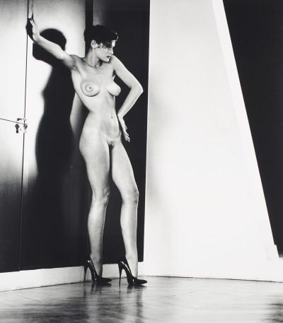 Sylvia in my Studio, Paris